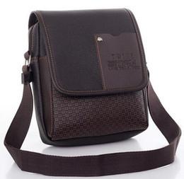 Wholesale Low Priced Handbags Wholesale - Wholesale- 2017 hot sale men Handbag Casual Lowest Price New Hot Sale Pu Leather Men Bag Messenger Small Crossbody Shoulder Bags