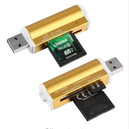 Wholesale Multi Memory Cards Reader - China manufacture multi in 1 portable data transfer memory micro USB smart phones tablet PC card reader
