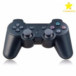 Wholesale Wireless Bluetooth Gamepad Controller Wholesale - Wireless Bluetooth Game Controller for PlayStation 3 PS3 Game Controller Gamepad Joystick for Android Video Games Colors With Retail Box