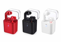 Wholesale Wholesale Iphone Charging Cases - Fantime TWS V4.1 True Bluetooth Airpods Wireless Bluetooth Earphone &Earbud with Charging Case
