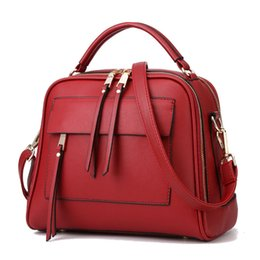 Wholesale Good Messenger Bags - Wholesale- Charm in hands Good Quality Women Handbag PU Leather Women Messenger Bags Vintage Women Bag Tote Shell Bolsas Lady Pouch