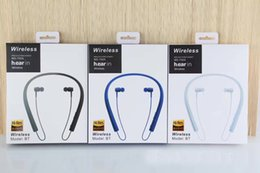 Wholesale Earphones Mdr - Selling Hanging ear stereo Portable earphone Sport Bluetooth headset SONY MDR-EX750 hight quality Beautiful and durable