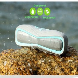 Wholesale Playing Cards Plastic - Waterproof bluetooth speaker portable quality IPX7 outdoor Stereo Speaker bike 2017 with TF card play handsfree MP3 player Mic