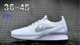 Wholesale Racer Back Tops - Air Zoom Mariah Racers 2 Men Women Top Quality Casual Racers II Back White Green Red Lightweight Breathable Walking Shoes 36-45