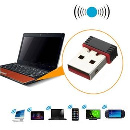 Argentina Adaptador USB Wi-Fi de 150Mbps Adaptador inalámbrico de tarjeta de red Wifi Dongle para PC portátil de escritorio Windows 10 8 7 MAC OS Raspberry Pi / Pi2 desktop wireless network deals Suministro