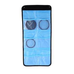 Wholesale Lens Filter Adapter Ring - Lens Filter Wallet Protector Case 3 or 6 Pockets Bag Camera Filter Wallet Lens Adapter Ring Storage Bag Case Pouch Holder