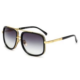 Óculos de sol de festa de design on-line-Marca de design de moda homens óculos de sol populares quadrado unisex colorido óculos de sol clássico de viagem do partido ao ar livre óculos de sol do vintage atacado