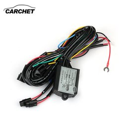 Wholesale Relay Light - LED DRL Daytime Running Light Relay Harness Controller On Off Dimmer Car DRL Daytime Running Lights DC 12V 30W DISCOUNT