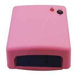 2019 beleza jp Secador de lâmpada de unhas profissional 36 W Lâmpada UV Para Unhas 110 V 220 V 4x 9 W CONDUZIU a Lâmpada Do Prego Secador de Ferramentas Da Arte Do Prego Secador Polonês Gel