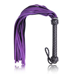 Wholesale Sexy Whippings - Bondage Spanking Leather Floggers for Sex BDSM Adults Play Games Whips Tawse Flirting Tools Sexy Toys