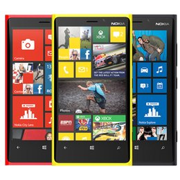 Wholesale Lumia Phones - Original Nokia Lumia 920 4g lte Phone 4.5 inch Dual Core 1GB RAM 32GB ROM 8.0MP Camera Refurbished Cell Phones