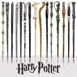 Wholesale cosplay toys - Creative Cosplay 18 Styles Hogwarts Harry Potter Series Magic Wand New Upgrade Resin with Metal Core Harry Potter Magical Wand