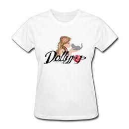 Wholesale Woman White Plain Shirt - Hot tee shirts O-collar regular short sleeve girl's cotton t-shirt cuteness cartoon print women's good quality plain cotton clothes
