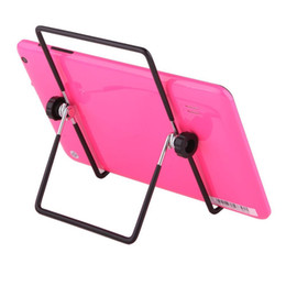 "Wholesale Tablet Pc Stand Portable Foldable - Wholesale- Free DHL Adjustable Stand Holder Multi-angle 180 Degrees Folding Foldable Portable Stand Holders for 7"" 9.7"" 10"" Tablet PC"