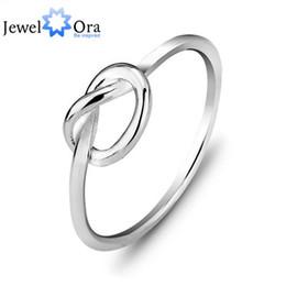 2019 anel de nó de prata esterlina Genuine 925 Sterling Silver Melhores Presentes Para A Menina Mulheres Jóias Bandas Anel de Nó (RI102297) 17401 anel de nó de prata esterlina barato