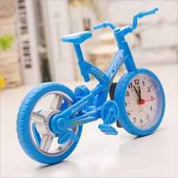 Wholesale Antique Style Furniture - Wholesale-Home Decor Furniture Children Room,Bicycle-Shaped 20.5*13.5cm Creative Plastic Digital Clock.