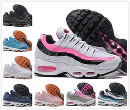 Wholesale Drop Shipping Boots - Wholesale Running Shoes Womens Air Cushion 95 Sneakers Fashion Boots 20 anniversary Walking Discount Drop Shipping Tennies Sport Shoes 36-40