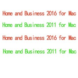 Wholesale 100 working MS Home and Business for Mac HB for mac code original new code