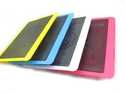 Wholesale Hot Cool Pad - USB notebook radiator cooling laptop radiator pad hot section super wind 14 inch base radiator