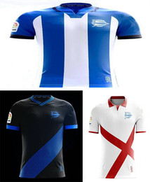 Wholesale Ripped T - 2017 Alaves T-shirt Casual shirts 2017 2018 Alaves shirts Leisure Best Quality Casual free shipping