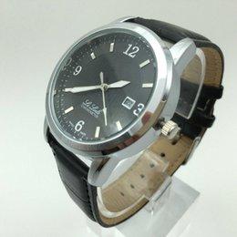 Wholesale Male Dress Design - 2017 replica top luxury brand watches men's fashion quartz watch man casual watches waterproof male dress watch design leather brand clock