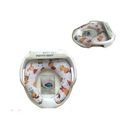 Wholesale Toilet Seats Covers Soft - Promotion beautiful design soft baby potty children toilet seat cover
