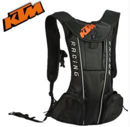 Wholesale Tank Bags Backpack - 2017 NEW Popular style KTM backpack Water bag Travel backpack motorcycle backpack daily backpack bags Bolsas Mochilas