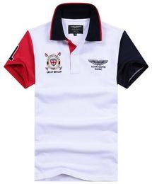 Wholesale Racing Business - Shopping! Business Summer Hackett Racing Polos Casual Polo Shirts Mens Cotton Short Sleeve London HKT Sport T-shirt Great Britain