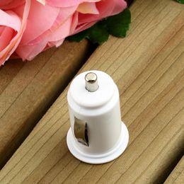 Carregador de carro dupla branco on-line-Micro duplo adaptador de carregador de carro usb dual para iphone 7 6 mais 5s / ipod / ipad / samsung / tudo telefone móvel