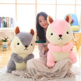 green day dolls Coupons - Dorimytrader New Pop 65cm Big Soft Cartoon Squirrel Plush Doll 26'' Giant Stuffed Animal Squirrel Toy Children Play Doll Gift DY60242