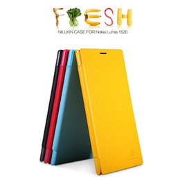 Wholesale Nillkin Fresh Series - Cell Phone Cases For Nokia 1520 Originil NILLKIN Fresh Series Flip Leather Case With Retail Package