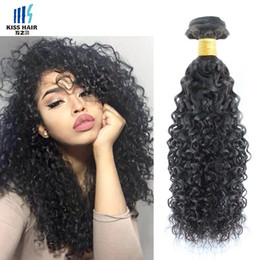 Wholesale Short Afro Kinky Curl - Afro Kinky Curly Hair 4 Bundle Deals Curl Brazilian Kinky Curly Virgin Hair Extensions Short Bob Curly Human Hair Weave