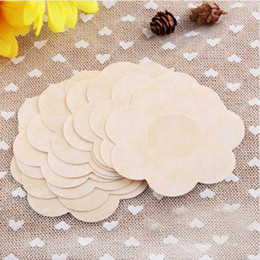 Wholesale sexy breast pasties - 300pcs lot Breast Petals Sexy Disposable Soft Silicone Nipple Cover Bra Pad Pasties For Women Intimates Accessories