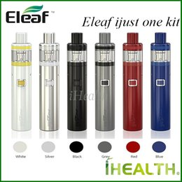 Wholesale Gs Kit - Eleaf iJust One Starter Kit with 2ml Atomizer and 1100mah Battery Electronic Cigarette Vape with EC coils and GS Air Head 100% original