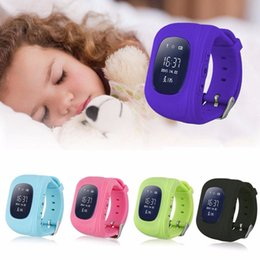Wholesale Korean Baby Wholesaler - Wholesale- 2017 Q50 Smart Kid Safe smart Watch SOS Call Location Finder Locator Tracker for Child Anti Lost Monitor Baby Wristwatch Gifts