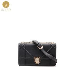 Wholesale Leather Across Shoulder Bags - Wholesale- VINTAGE CHAIN FLAP BAG - Women's Retro Fashion Casual Small Little Messenger Shoulder Crossbody Across Bag Purse Handbag
