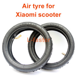 Wholesale Tires Tubes - 8 1 2x 2 Air Tyre For M365 Electric Scooter Mijia Scooter Replacement Tyre Tube Xiaomi 8.5x2 Inflated Spare Tire Replace Tube