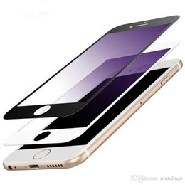Wholesale Frosted Glass Screen - For iPhone 7 6s 6 Plus Frosted Matte Back and Front Full Screen Tempered Glass Protector Anti Glare Fingerprint with Retail Package