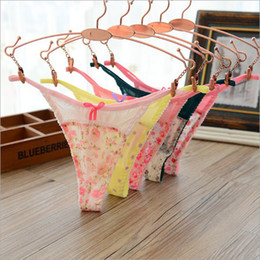 Wholesale Transparent String Thongs For Women - Sexy Panties For Women Mesh Lace G Strings Thongs Tangas Transparent Underwear T-back Women Panty Calcinha Bragas