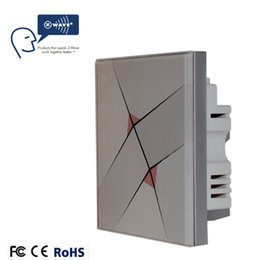 Wholesale Xenon Lighting System - Wholesale-Xenon switch Z-Wave lighting switch Z-Wave Smart Home Automation System App wireless remote control standard EU wall switchs