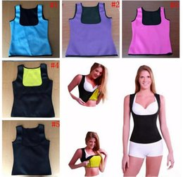 Wholesale Slim Tummy Shaper - Women Waist Bust Shaper Cami Vest Slimming Thermo Cami Cinchers Body Shaper Tummy Slimmer Shaper Vest 60Pcs