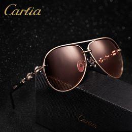 Wholesale Designer Men Gold Chains - polarized sports sunglasses men women brand designer carfia 4225 gold chain sunglasses classic Wholesale freeshipping