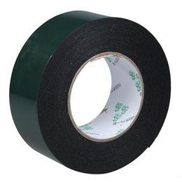 Wholesale Foam Tape Single Sided - Wholesale- 2016 Lovely Multifunction Black Sponge Foam Double Sided Adhesive Tape (50mm*10m)