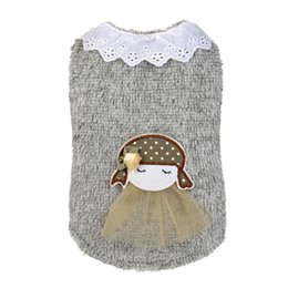 Ropa para perros Pet Puppy Little Girl With Sweater Charm Apparel productos de chihuahua para perros Winter Warm Pet Dog Clothes Vest desde fabricantes