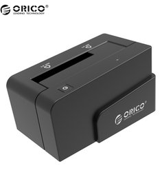 """Wholesale Hdd Dock Orico - Wholesale- ORICO 6618SUS3 USB 3.0 & eSATA Docking Station for 2.5' or 3.5"""" HDD SSD Enclosure with 12V 2.5A Power Adapter -Black"""