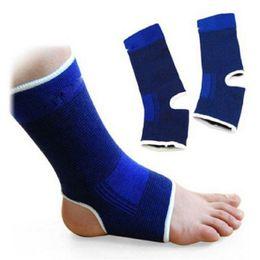 Wholesale Foot Wraps - 2 PCS Ankle Foot Elastic Compression Wrap Sleeve Bandage Brace Support Protection