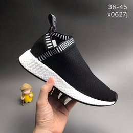 Wholesale Socks Size 36 - NMD CS2 Shock Pink Primeknit Shoes NMD CS2 Ronin Women And Men NMD City Sock 2 Sneakers Size 36-45 Come With Box