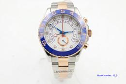 Wholesale Mens Golden Automatic - Luxury Men's Sapphire Crystal 116688 Blue Ceramic Bezel Rose Golden Perpetual Automatic Movement 2 Tone Watch Sport Wristwatch Mens Watches