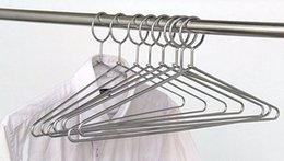 Wholesale Clothing Theft - Anti-theft Metal Clothes Hanger with Security Hook for Hotel Used,5mm Thickness LLFA