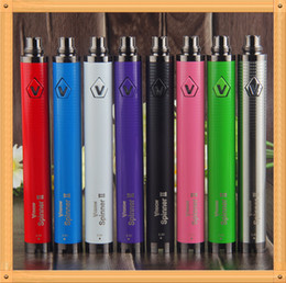 Wholesale Ego Twist Mod - 2017 100% Quality 510 Thread Vision spinner II 1650mAh vape batteries mods eGo-C Twist 3.3 4.8V variable voltage electronic cig battery